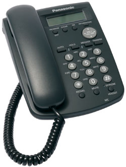 Panasonic KX-HGT100-B VOIP Business Phone